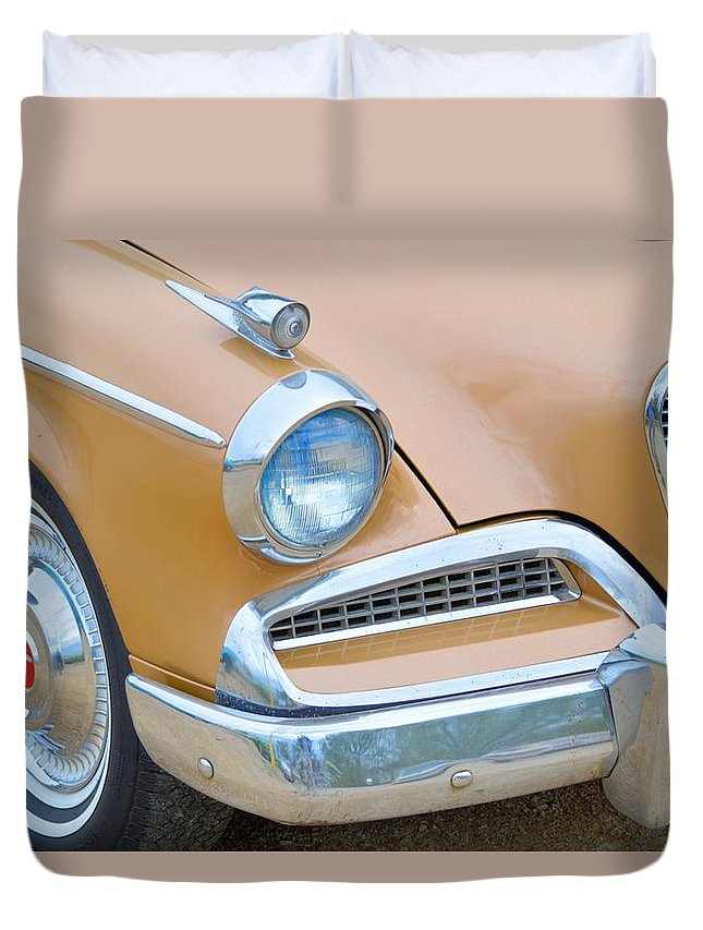 Studebaker Duvet Cover featuring the photograph Studebaker by Bonfire Photography
