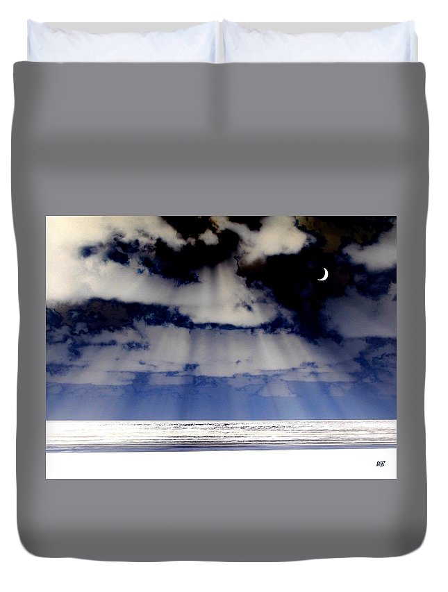 Surreal Duvet Cover featuring the digital art Sub Zero by Will Borden