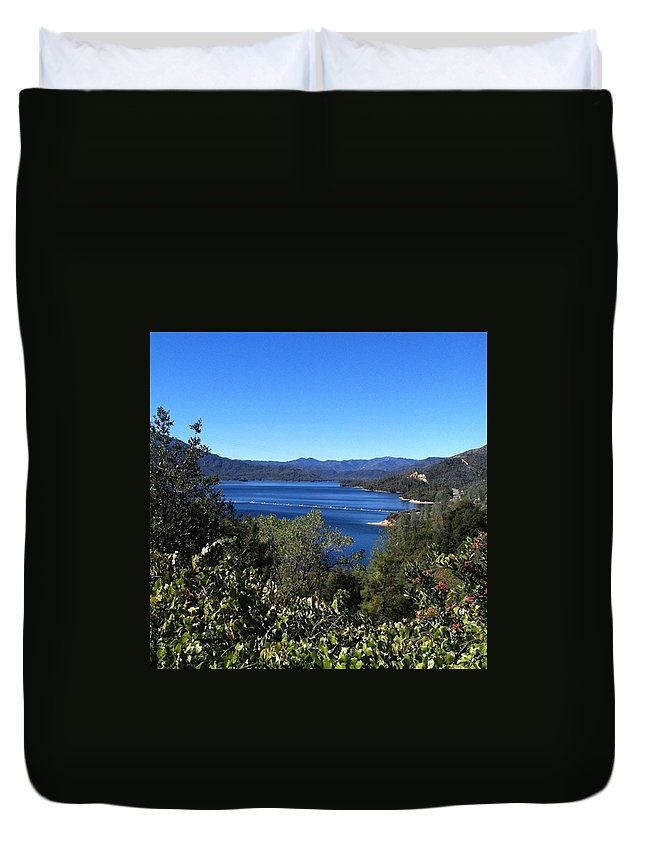 California Duvet Cover featuring the photograph Such A Beautiful Fall Day In by Jennifer Beaudet Zondervan