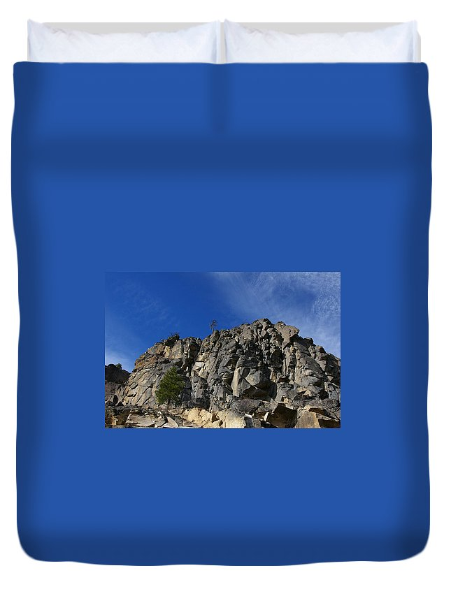 Views Duvet Cover featuring the photograph Sugarloaf by Jeff Swan