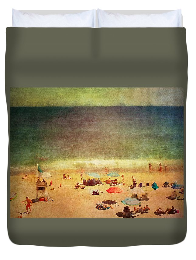 Beautiful Duvet Cover featuring the photograph Summer At The Cape Iv by Tina Baxter