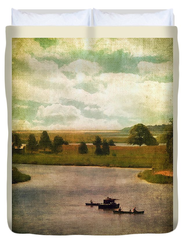 Beautiful Duvet Cover featuring the photograph Summer At The Cape V by Tina Baxter