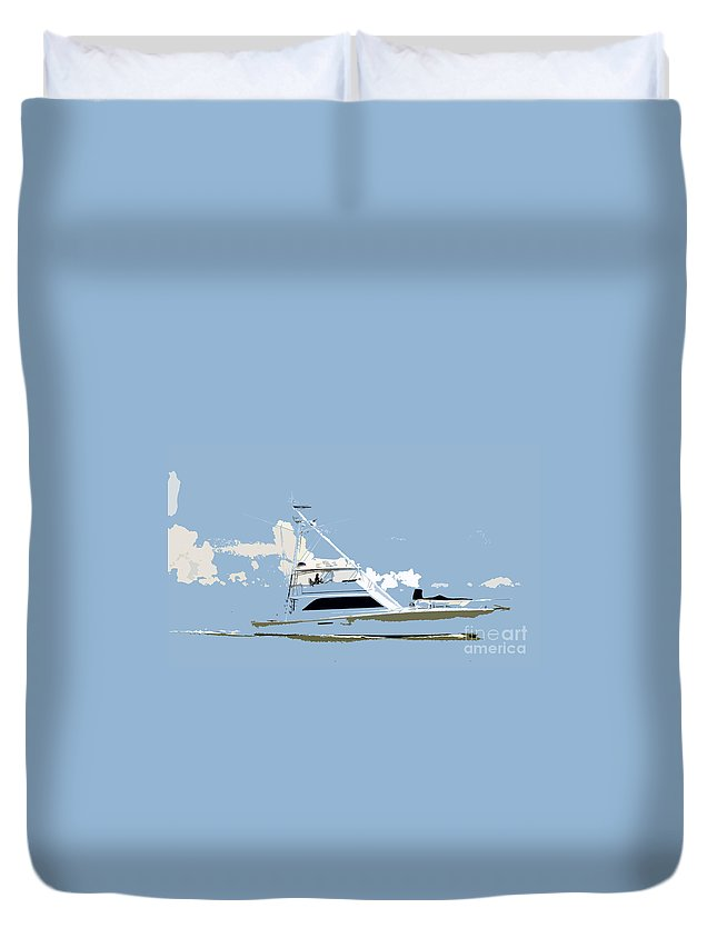 Boat Duvet Cover featuring the photograph Summer Freedom by David Lee Thompson