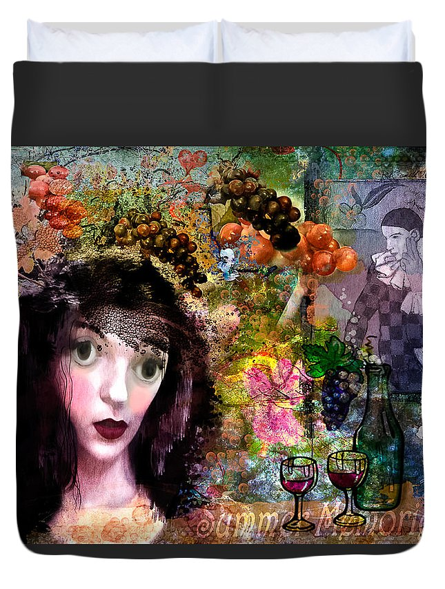 Art Duvet Cover featuring the photograph Summer Memories by Rosemary Smith