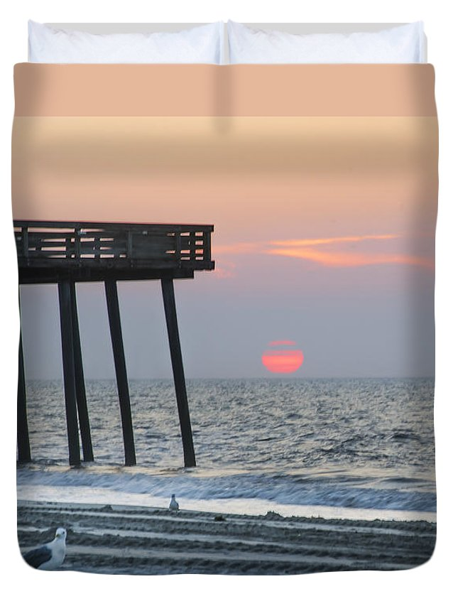 Summer Duvet Cover featuring the photograph Summer Paradise by Bill Cannon
