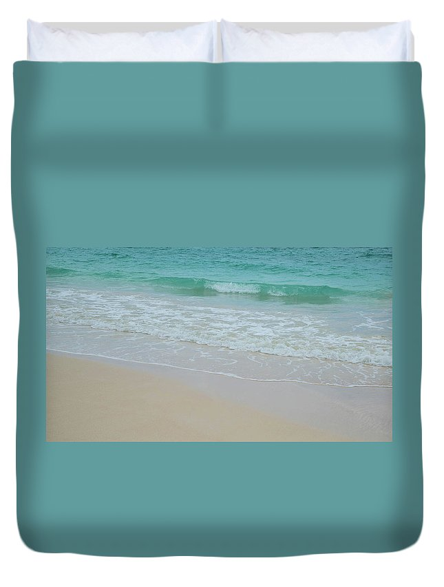 Tide Duvet Cover featuring the photograph Summer Tide by G Ward Fahey