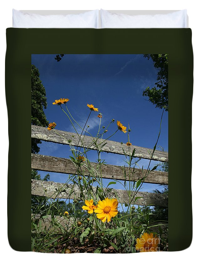 Summer Duvet Cover featuring the photograph Summertime by Victoria Bryant