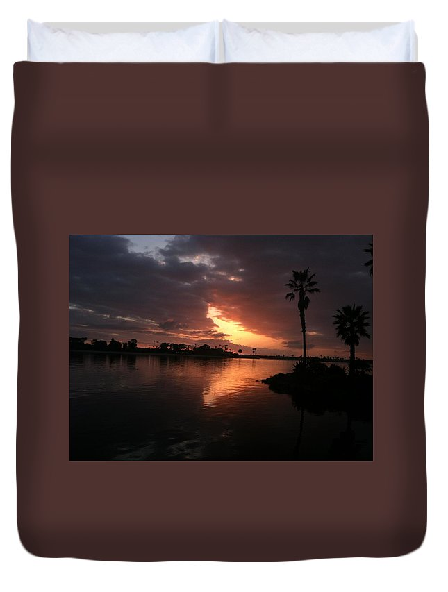 Sunset Beach Dreams Duvet Cover featuring the photograph Sun Dreams by Sasha Kay