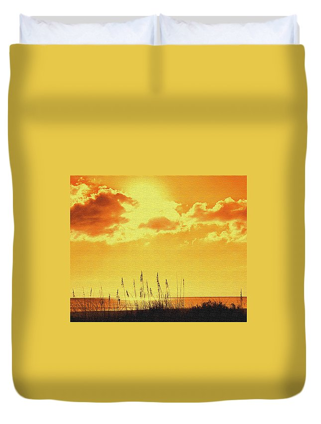 Sun Duvet Cover featuring the photograph Sun by Ian MacDonald