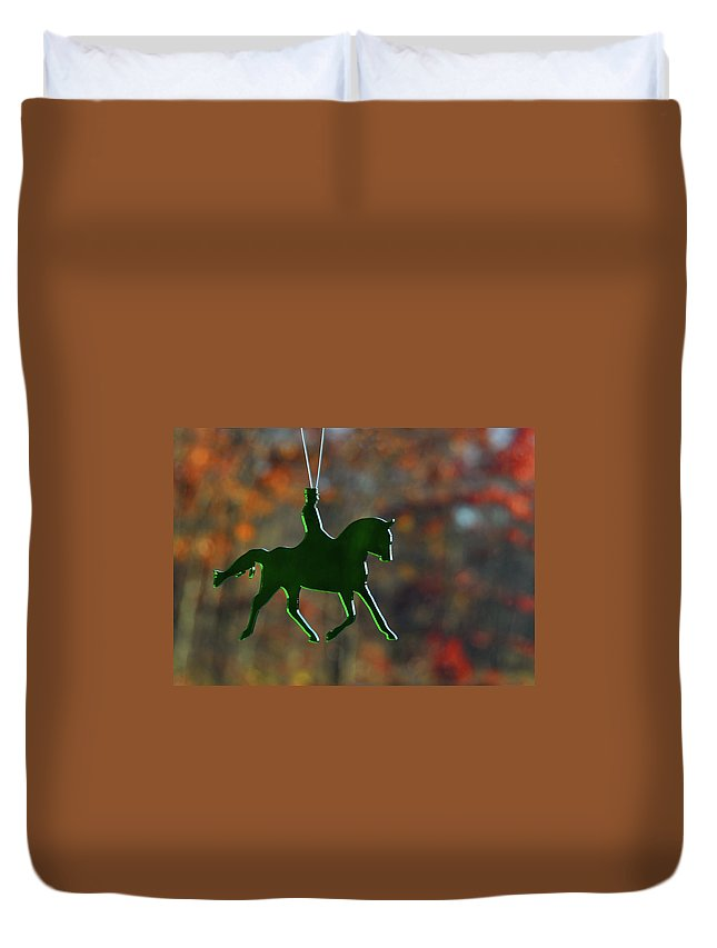 Horse Duvet Cover featuring the photograph Sundancer by JAMART Photography