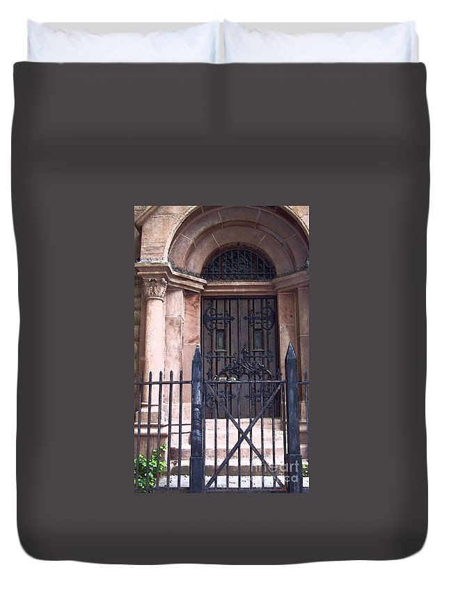 Church Duvet Cover featuring the photograph Sunday by Debbi Granruth