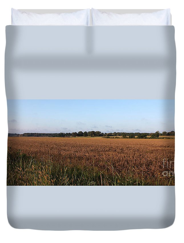 Tennessee Duvet Cover featuring the photograph Sunday Drive by Amanda Barcon