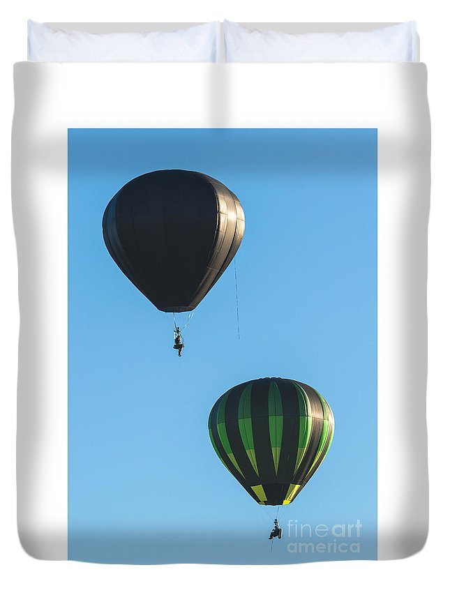 Natanson Duvet Cover featuring the photograph Sunday Morning by Steven Natanson