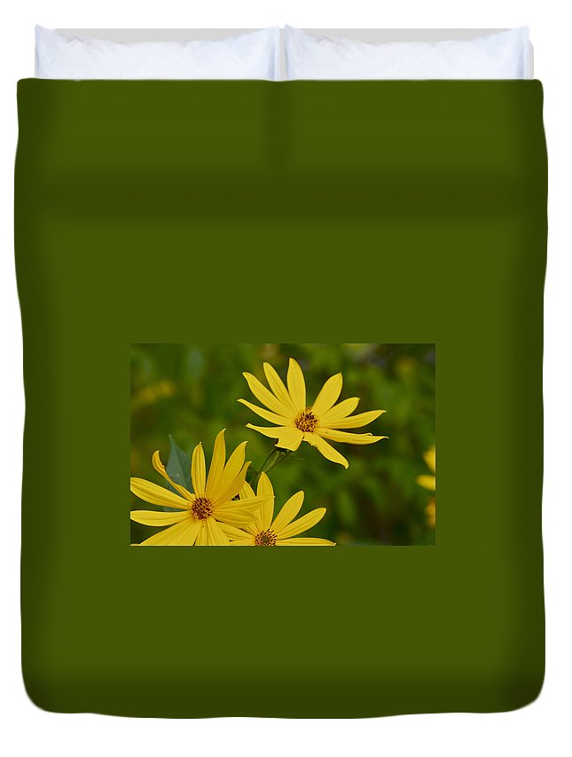 Beautiful Duvet Cover featuring the photograph Sunflower by Jack R Perry