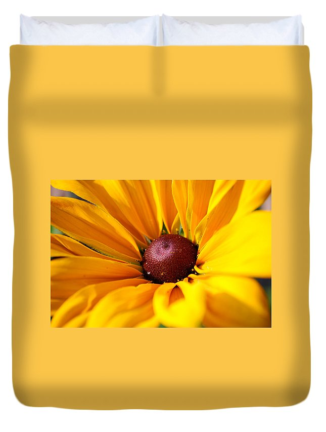 Sun Duvet Cover featuring the photograph Sunkissed by Lisa Knechtel