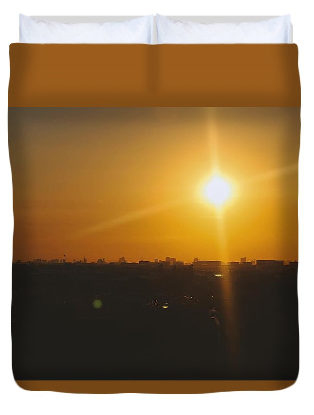 Duvet Cover featuring the photograph Sunlight by Tanakrit Songkijkunchit