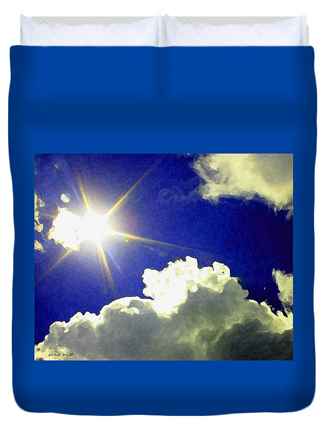 Wgilroy Duvet Cover featuring the photograph Sunrise /sunset by W Gilroy