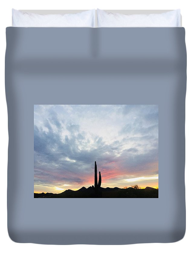 Duvet Cover featuring the photograph Surender To Softness by Joy Elizabeth