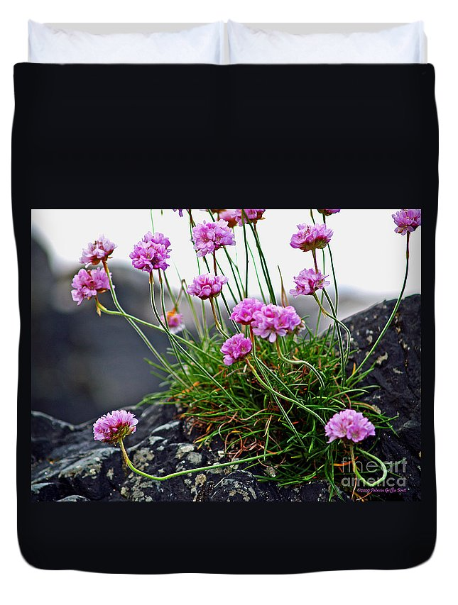 Fine Art Photography Duvet Cover featuring the photograph Survival Of The Fittest by Patricia Griffin Brett