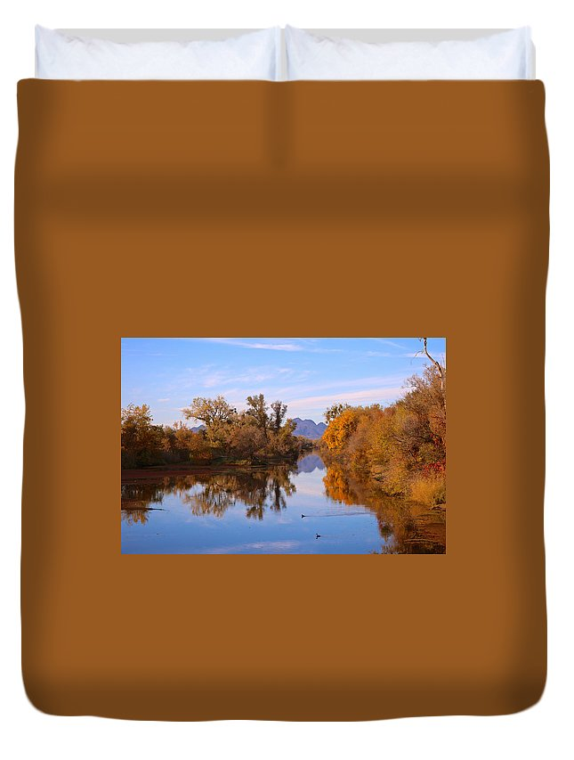 Sutter Buttes Duvet Cover featuring the photograph Sutter Buttes From Hughes Road by DUG Harpster