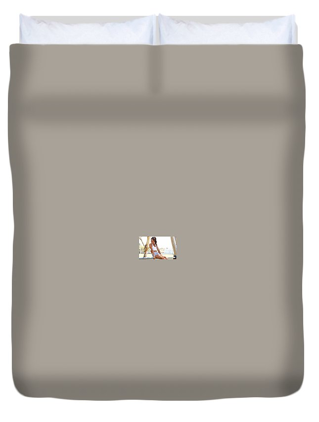 Sweat With Kayla Recipes Duvet Cover featuring the ceramic art Sweat With Kayla Recipes by Sweatwithkayla Snack