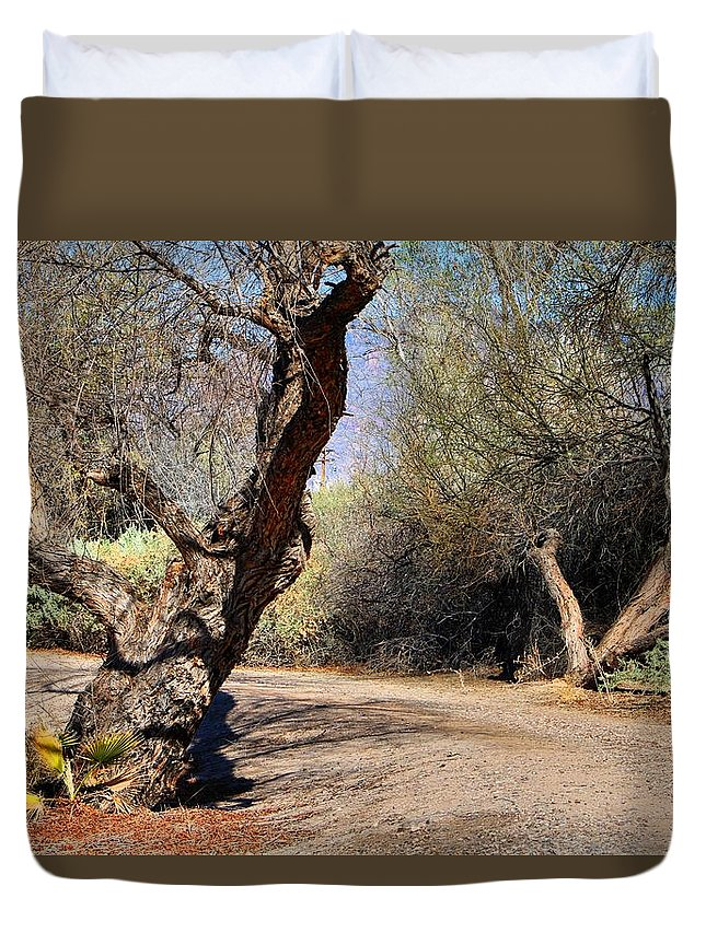 Nature Preserve Duvet Cover featuring the photograph Sweetwater 7 by Kathryn Meyer