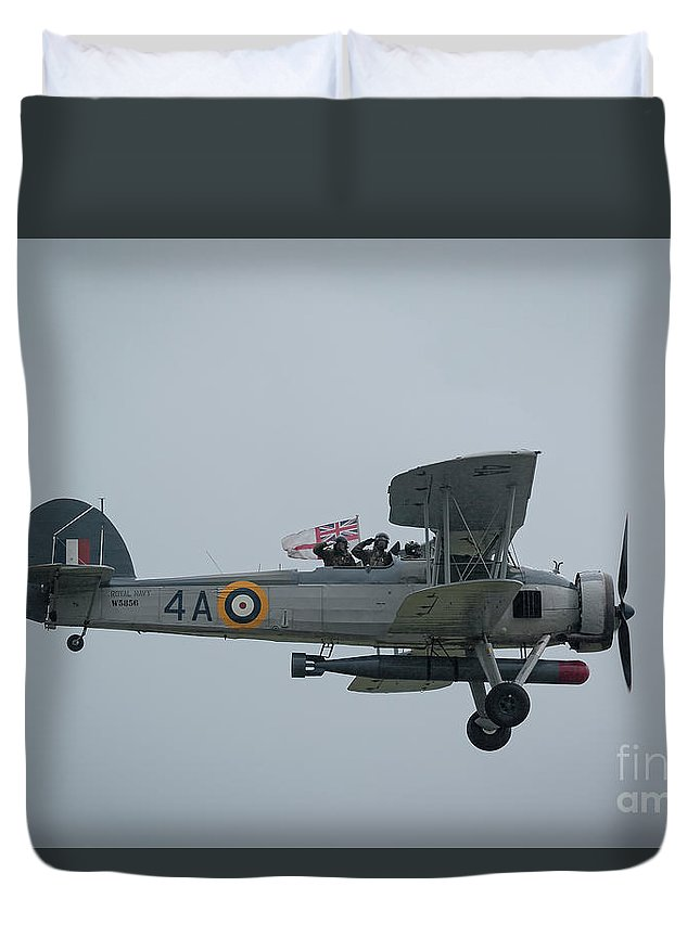 Flag Duvet Cover featuring the photograph Swordfish by Philip Pound