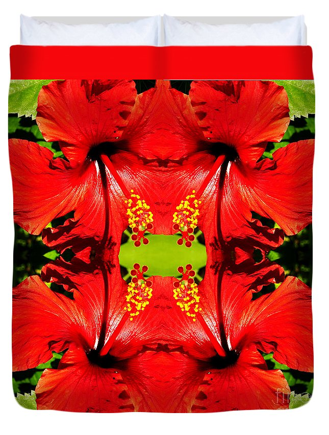 Clay Duvet Cover featuring the photograph Symmetry by Clayton Bruster