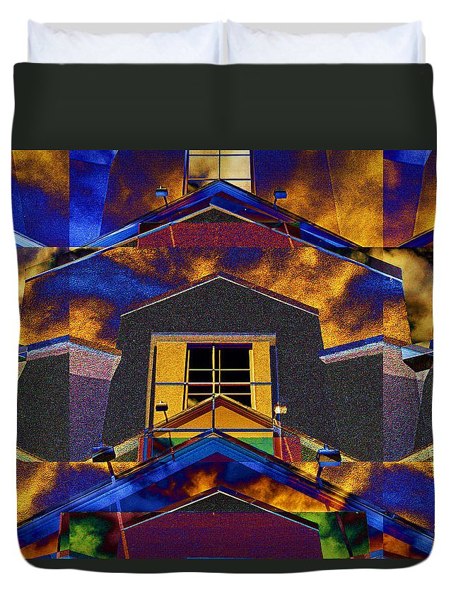 Photography Duvet Cover featuring the photograph Symmetry In Chaos by Paul Wear