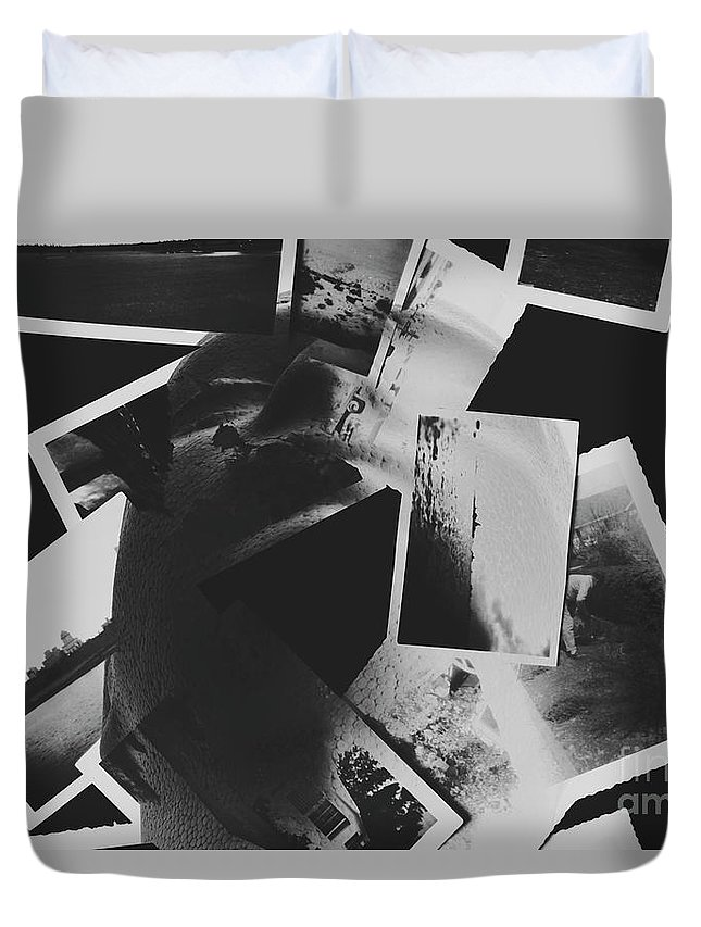 Black Duvet Cover featuring the photograph Systematic Recollection Of Memories by Jorgo Photography - Wall Art Gallery