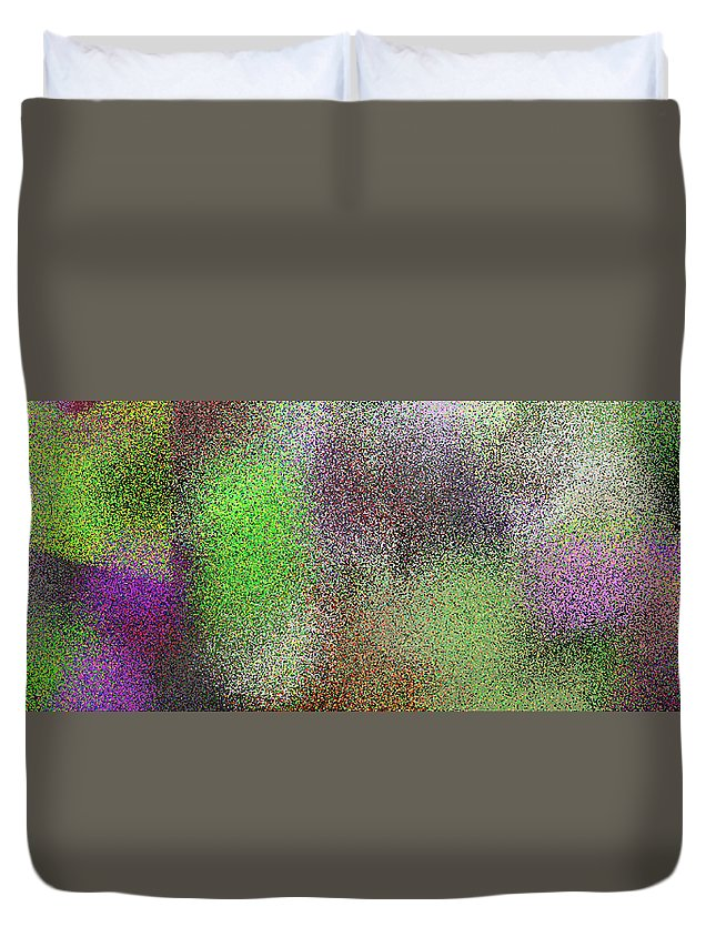 Abstract Duvet Cover featuring the digital art T.1.1109.70.3x1.5120x1706 by Gareth Lewis
