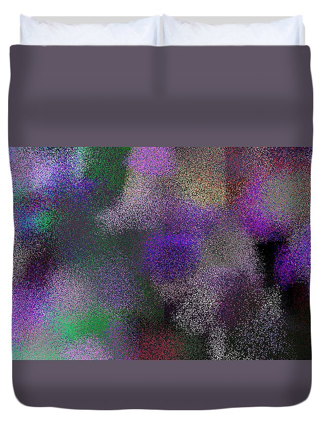 Abstract Duvet Cover featuring the digital art T.1.1251.79.2x1.5120x2560 by Gareth Lewis