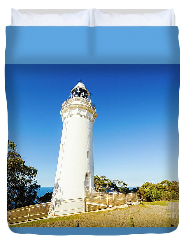 Building Duvet Cover featuring the photograph Table Cape Architecture by Jorgo Photography - Wall Art Gallery