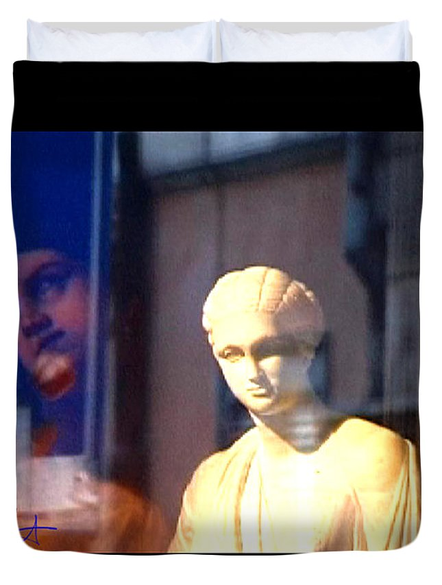 Rome Duvet Cover featuring the photograph Tableau by Charles Stuart