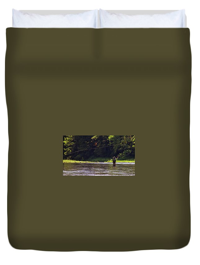 River Duvet Cover featuring the photograph Take Me Home by JAMART Photography