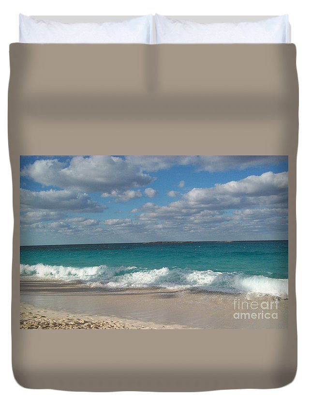 Bahamas Duvet Cover featuring the photograph Take Me To The Bahamas by Gina Sullivan