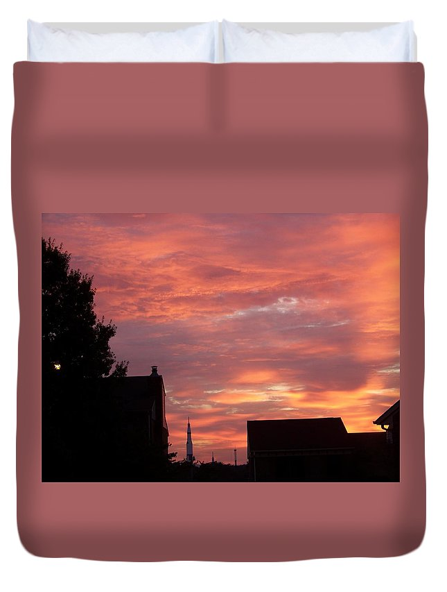 Saturn Moon Rocket Duvet Cover featuring the photograph Take Me To The Moon by Larry Wright