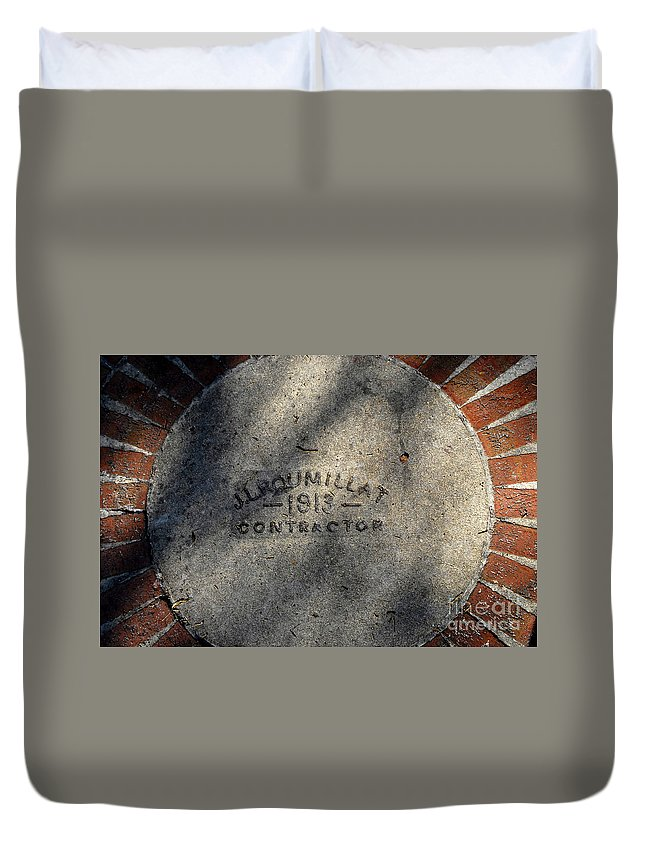 Contractor Duvet Cover featuring the photograph Tampa Bay Hotel 1913 by David Lee Thompson