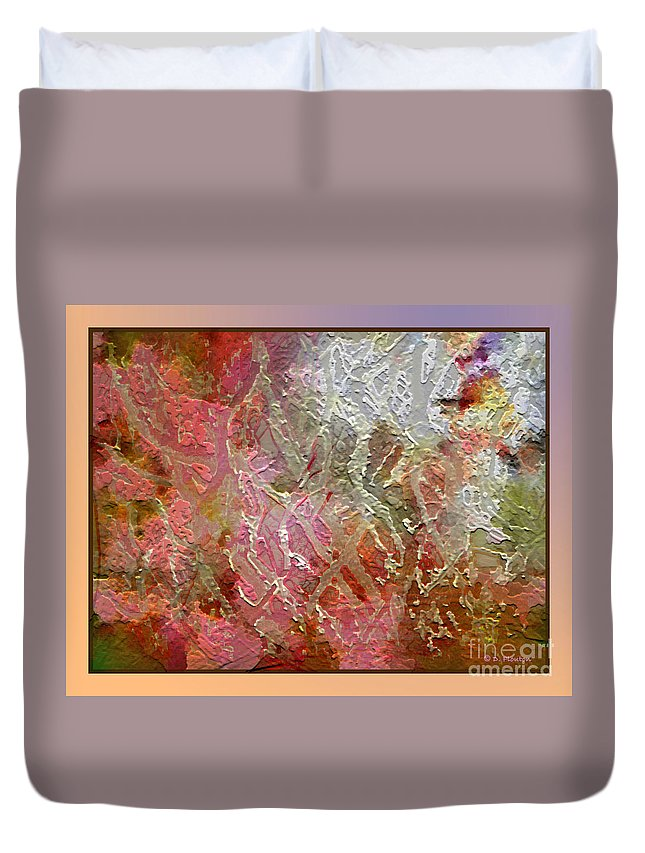 Abstract Duvet Cover featuring the photograph Tangled Branches II by Dee Flouton