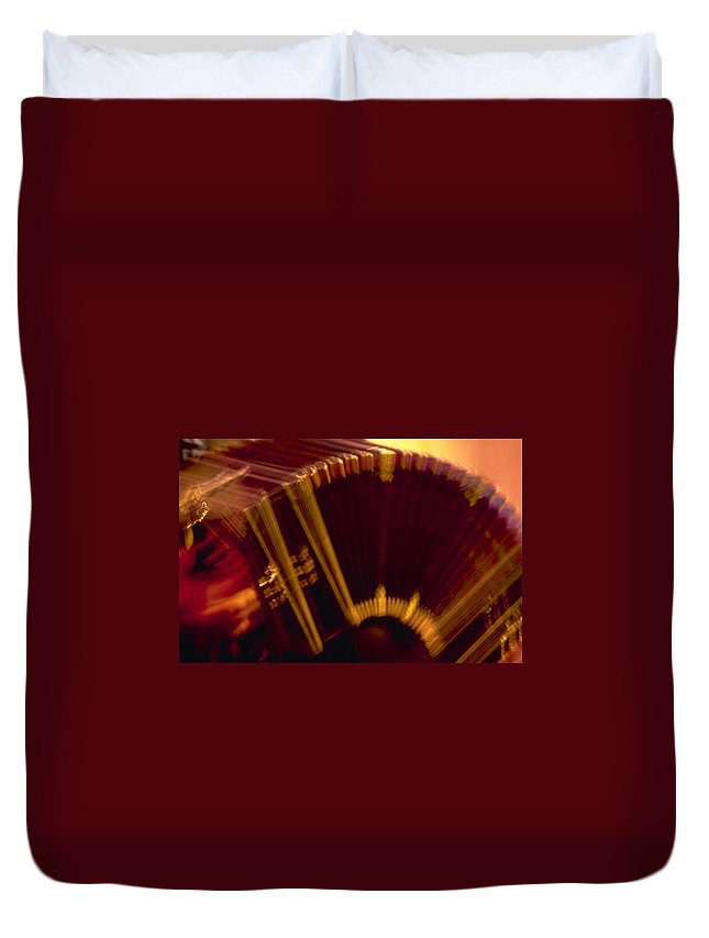 Music Duvet Cover featuring the photograph Tango by Michael Mogensen