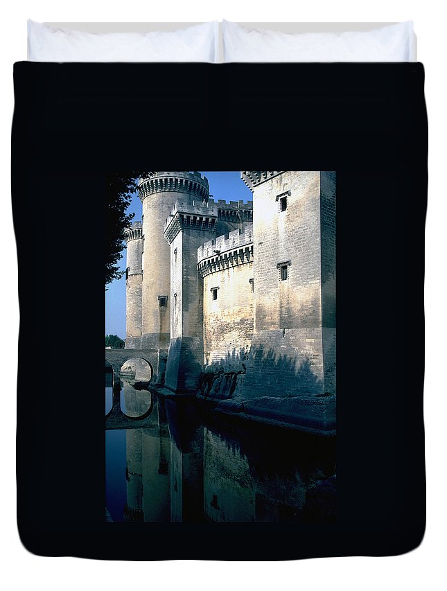 Tarragon France Castle Duvet Cover featuring the photograph Tarragon France by Flavia Westerwelle