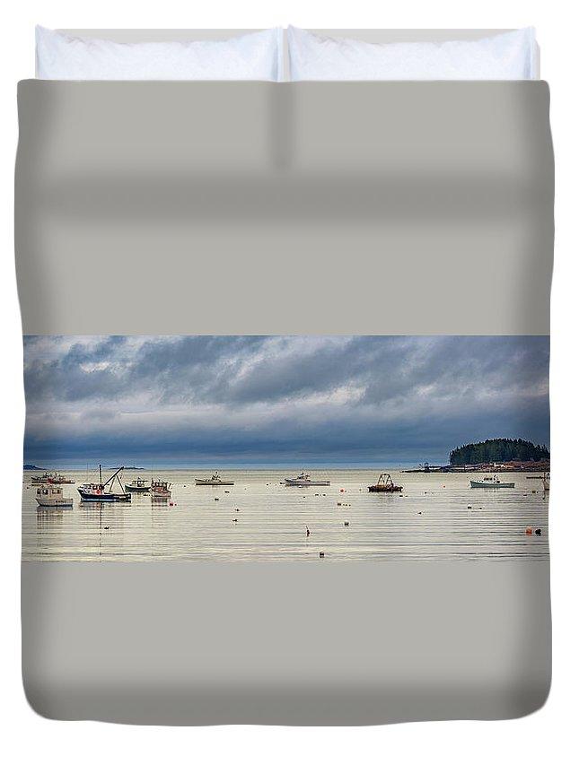 Tenants Harbor Duvet Cover featuring the photograph Tenants Harbor by Rick Berk