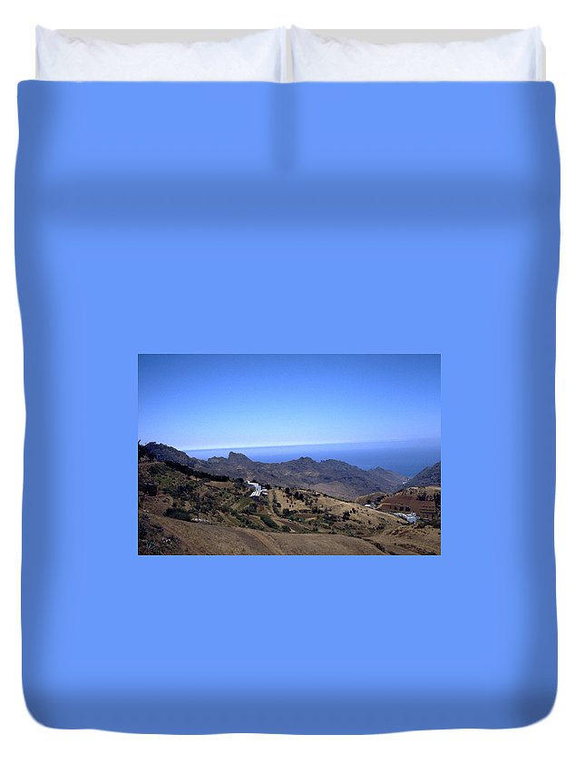 Tenerife Duvet Cover featuring the photograph Tenerife II by Flavia Westerwelle