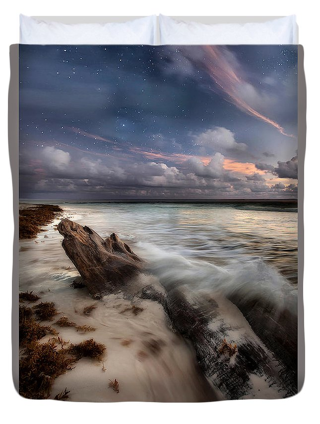 Mexico Duvet Cover featuring the photograph Tequila Sunrise by Todd Wall