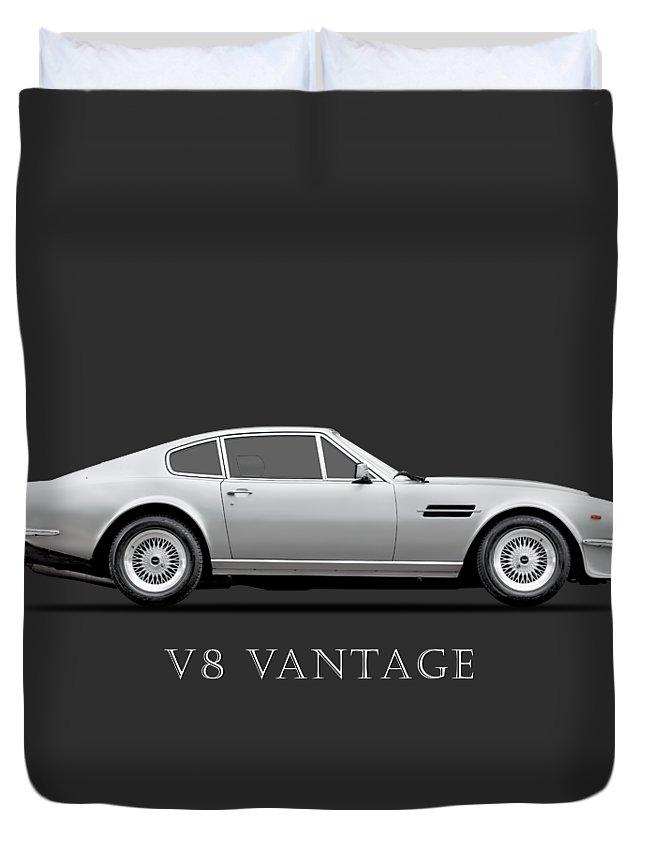 V8 Engine Photographs Duvet Covers