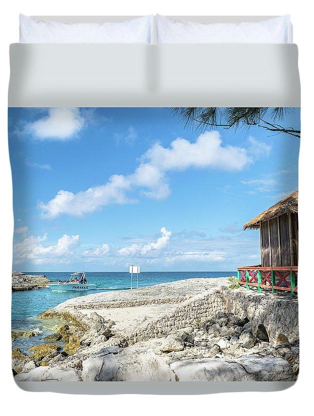 Bahamas Duvet Cover featuring the photograph The Bahamas Islands by Debbie Ann Powell