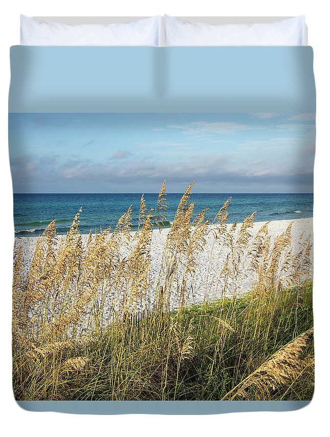Beach Duvet Cover featuring the photograph The Beach by Cliff Middlebrook