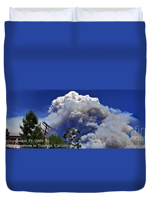 Clay Duvet Cover featuring the photograph The Beginning by Clayton Bruster