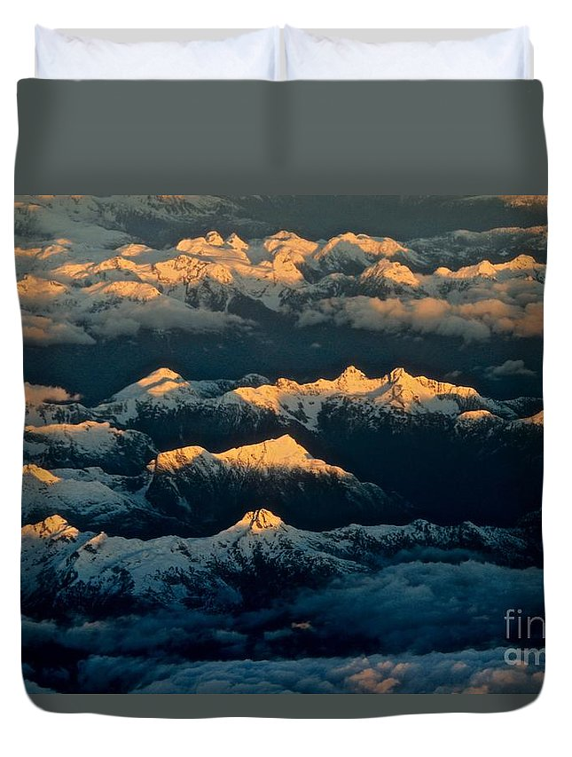 Dawn Duvet Cover featuring the photograph The Break Of Day by Peter Jamieson