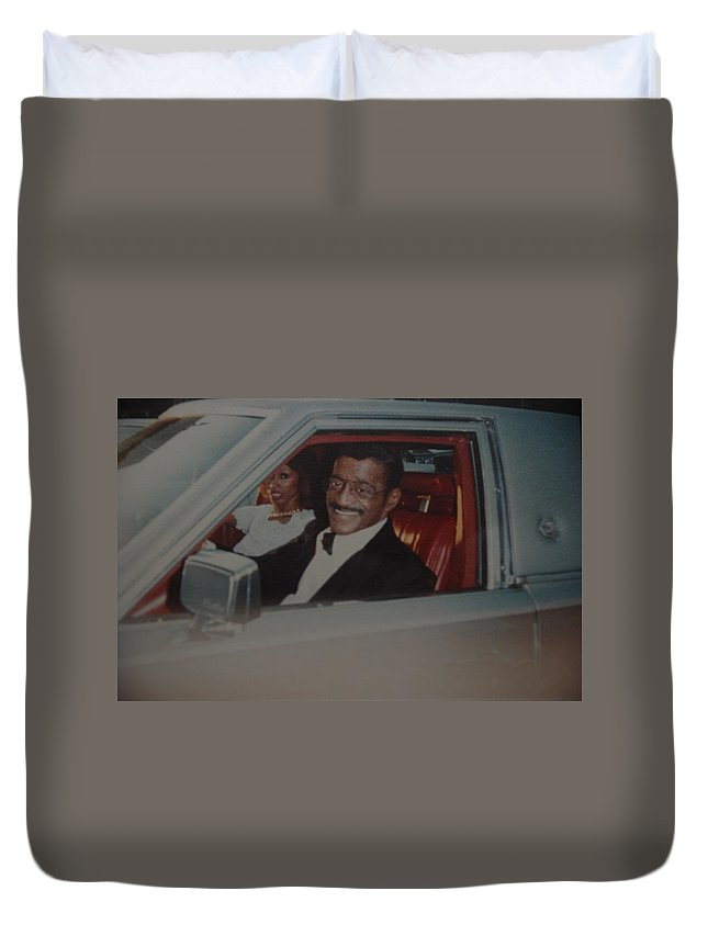 Movie Star Duvet Cover featuring the photograph The Candy Man by Rob Hans